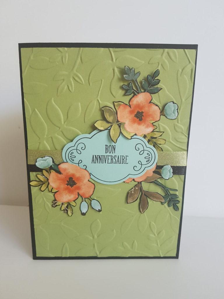 Carte d'anniversaire - Un charme fou