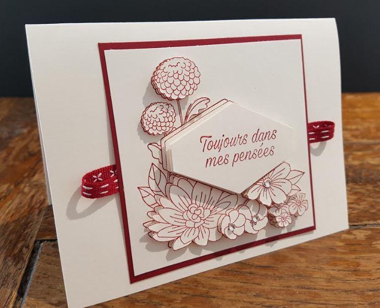 carte-fleurie-3d-rouge
