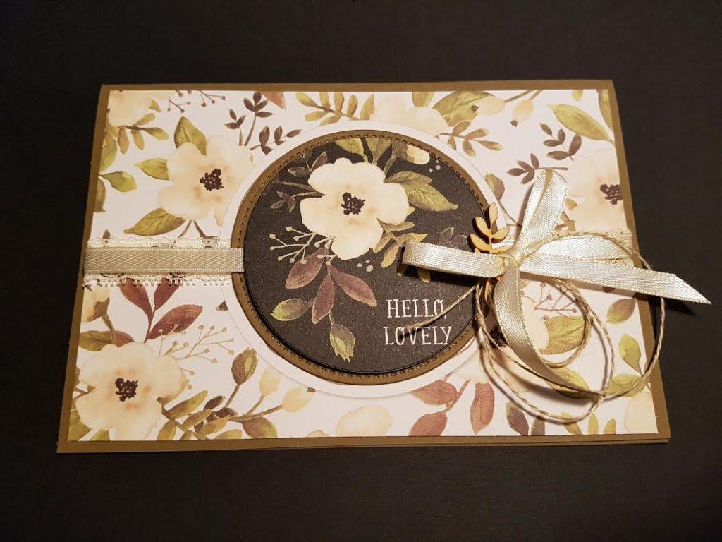 Blog Hop du mois d'Avril - Les fleurs....