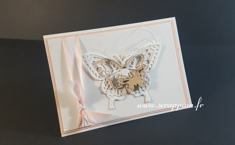Carte Pop Up papillons