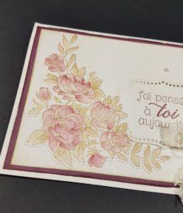 carte romantique détail