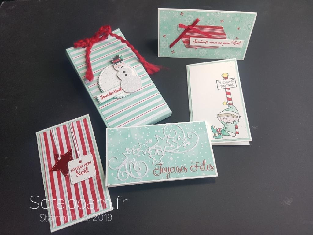 Une boite et ses mini-cartes