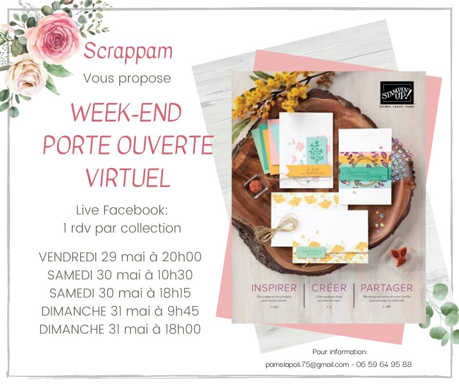 Porte Ouverte Virtuelle et lancement du nouveau catalogues (promo et cadeaux)
