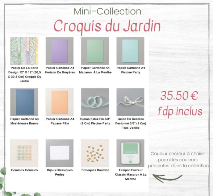materiel mini collection croquis du jardin