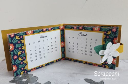 calendrier stampin up